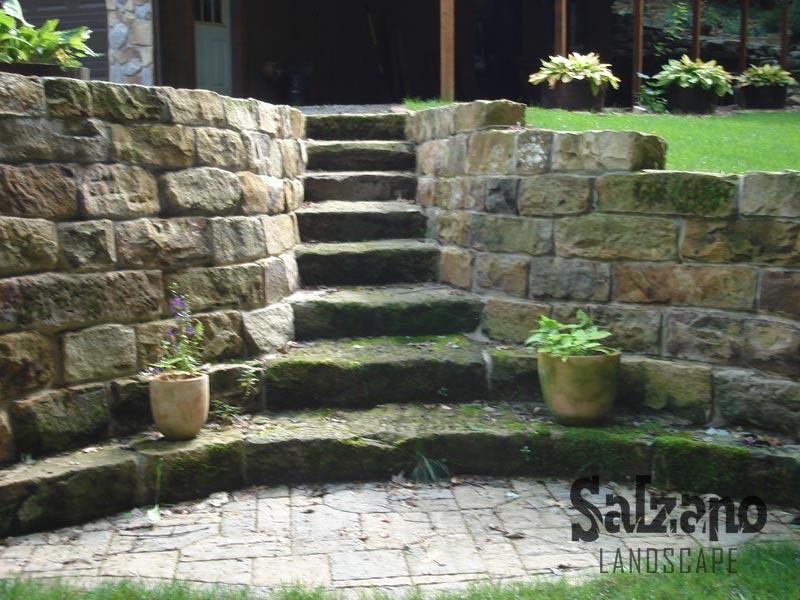 Salzano landscape new castle pa landscaping mulch for Landscaping rock estimator
